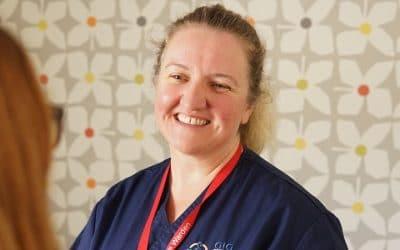 Rehabilitation ward becomes Carer Friendly